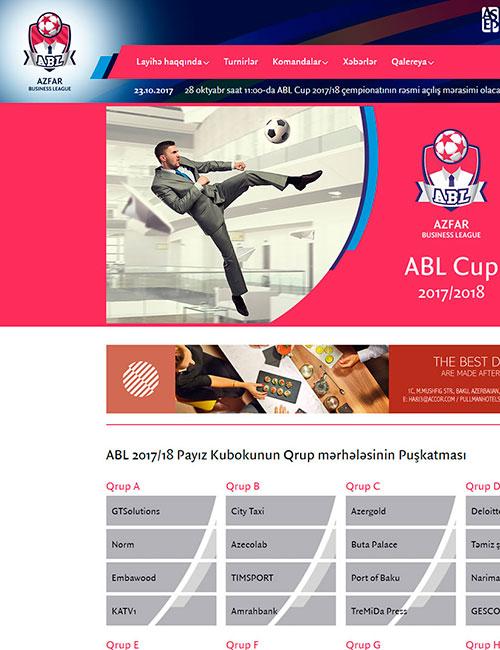 ABL | AZFAR Business League (ABL) çempionatının vebsaytı