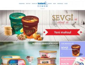 "Iceland.az | ""İceland"" ticarət nişanı altında hazırlanan dondurmaların saytı"