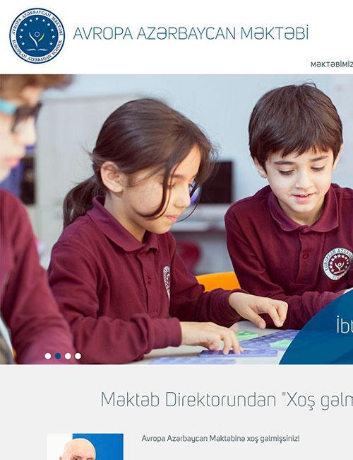 EAS | Avropa Azərbaycan Məktəbinin vebsaytı