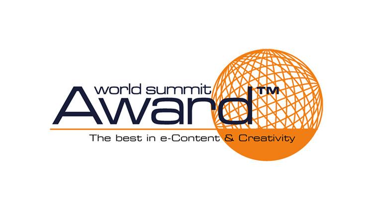 Награда World Summit Award, присуждаемая в конкурсе, проводимом под эгидой ООН и ЮНЕСКО.